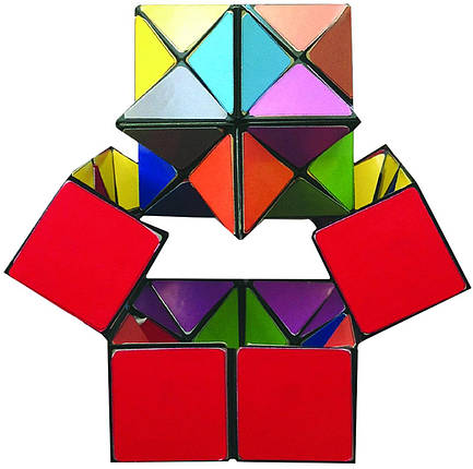 Антистресс Трансформер Star Cube | Стар Куб | Йошимото куб, фото 2