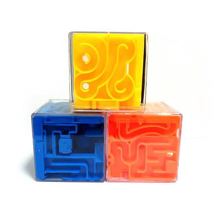 Головоломка Куб-лабиринт Мини, фото 2