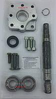 Комплект для установки насоса дозатора на трактор МТЗ-80, МТЗ-82 НД-80 (алюминиевая плита)