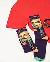 Мужские носки с принтом Escobar