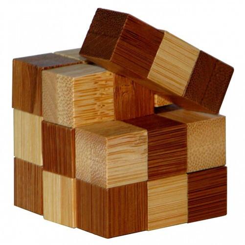 Головоломка бамбуковая Snake Cube