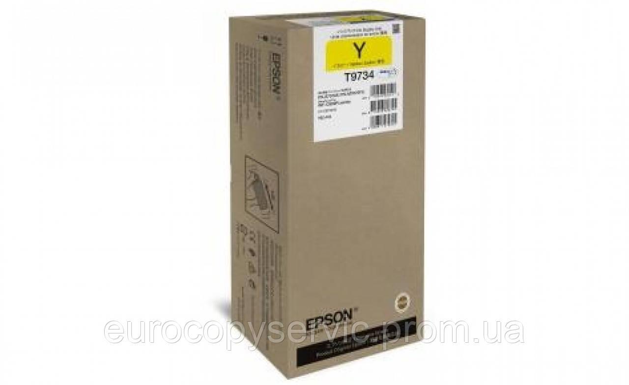 Картридж Epson WF-C869R yellow XL (22000 стор) (C13T973400)