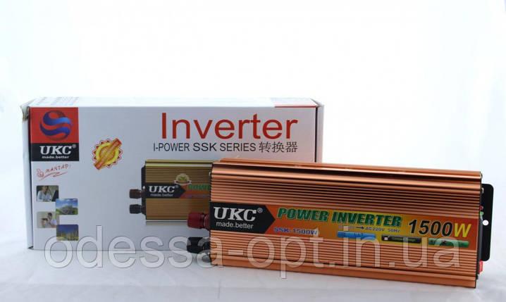 Преобразователь AC/DC SSK 1500W 24V (30) в уп. 30шт., фото 2