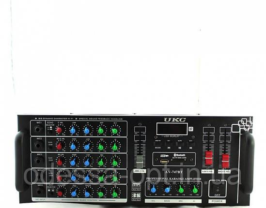 Усилитель AMP 747+BT, фото 2