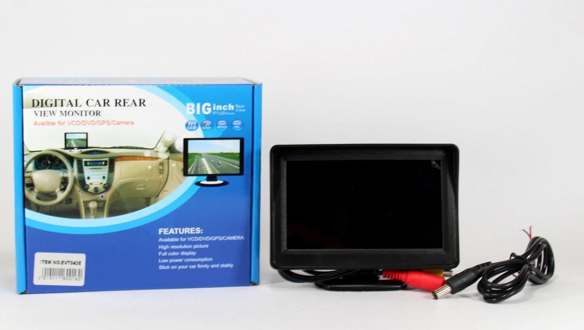 Дисплей LCD 4.3   для двух камер 043