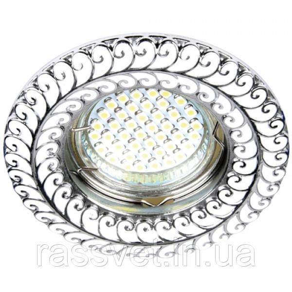 Встраиваемый светильник Feron DL6034 хром