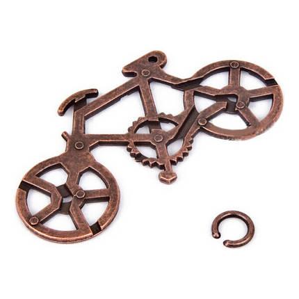 Головоломка литая Велосипед, фото 2