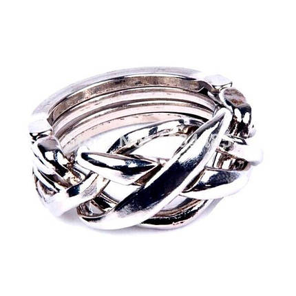 Головоломка литая Кольцо (аналог Cast Puzzle Ring), фото 2