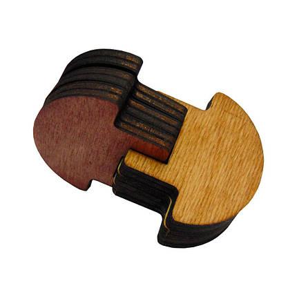 Деревянная 3D-головоломка Грибы, фото 2