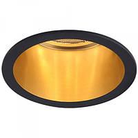 Встраиваемый светильник Feron DL6003 черный-золото