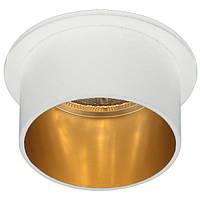 Встраиваемый светильник Feron DL6005 белый-золото