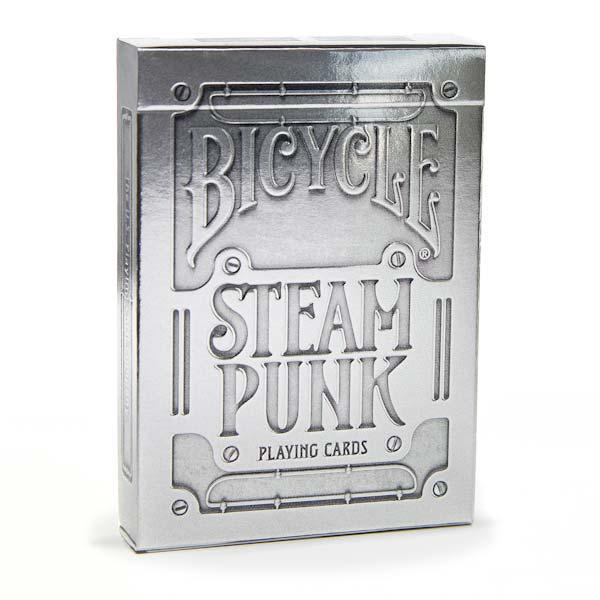 Карты Bicycle Steampunk Silver
