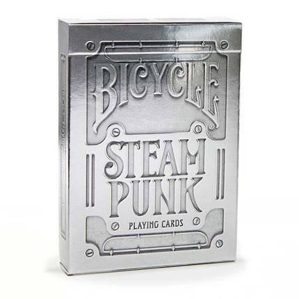 Карты Bicycle Steampunk Silver, фото 2