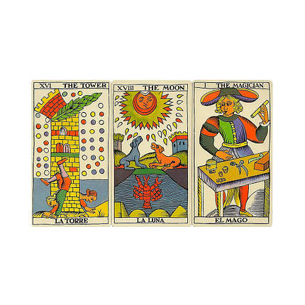 Карты Таро Fournier Spanish Tarot Español, фото 2