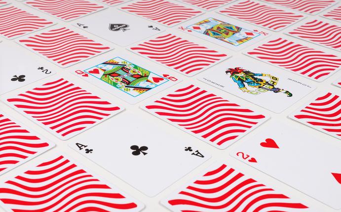 Карты покерные Copag Neo (красные), фото 2