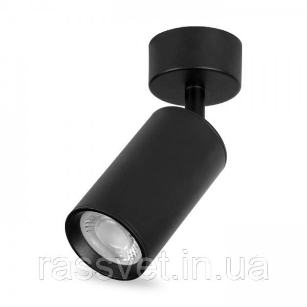 Накладной поворотный светильник МL310 черный