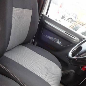 Чехлы модельные Volkswagen Caddy с 2004-10 г (1+1) Elegant Classic №169