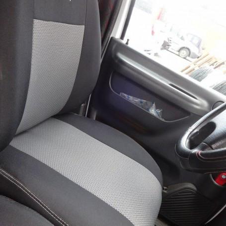 Чехлы модельные Volkswagen Caddy с 2004-10 г 5 мест Elegant Classic №004