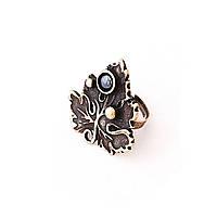 Кольцо Лист смородины (бронза)