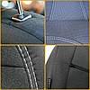 Чехлы модельные Volkswagen T5 c 2009г 8мест (1+1/2+1/3) Caravelle Elegant Classic №479, фото 3