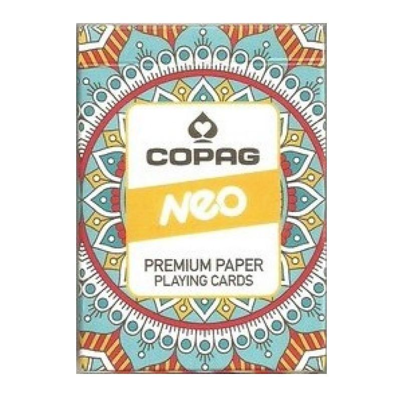 Карты покерные Copag Neo (оранжевые)