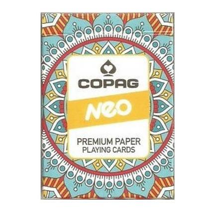 Карты покерные Copag Neo (оранжевые), фото 2