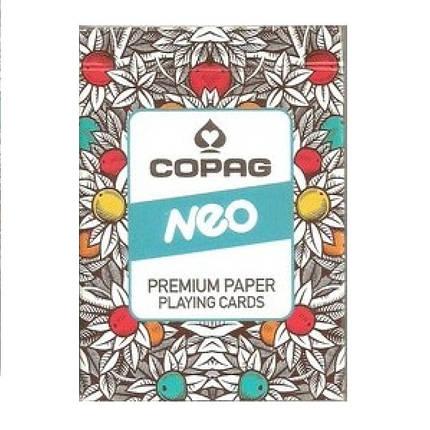 Карты покерные Copag Neo (синие), фото 2