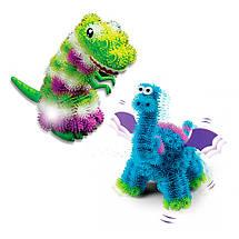 Конструктор-липучка светящийся Bunchems Динозавры (200 деталей), фото 2