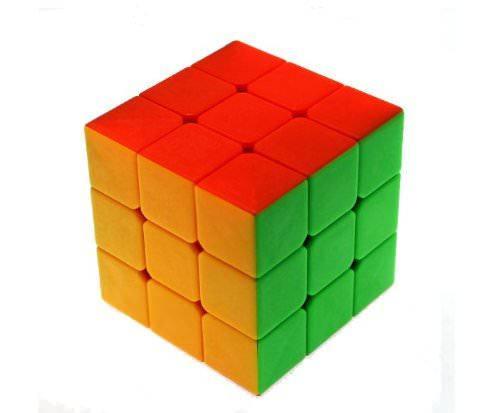 Кубик Рубика 3x3 (цветной) Mo Fang Ge, 57 мм, фото 2