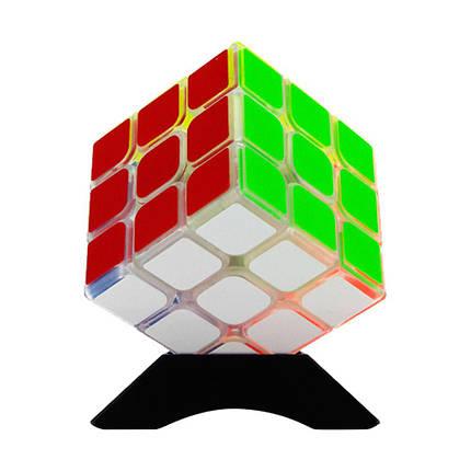 Кубик Рубика 3x3 MoYu GuanLong прозрачный, фото 2