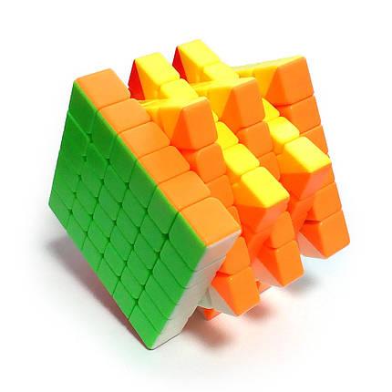 Кубик Рубика 6x6 MoFangJiaoShi MF6 Color, фото 2