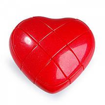Кубик Рубика Сердечко 3х3 YongJun, фото 2