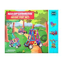Магнитный конструктор Magformers Машинки (40 деталей), фото 3