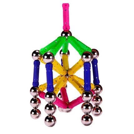 Магнитный конструктор Magnetics (100 деталей), фото 2