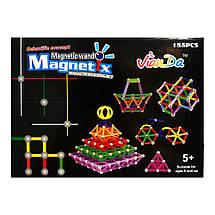 Магнитный конструктор Magnetics (188 деталей), фото 3
