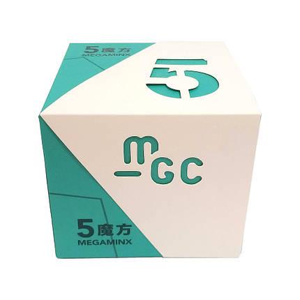 Мегаминкс 3x3 YJ MoYu MGC 5 Megaminx Цветной, фото 2