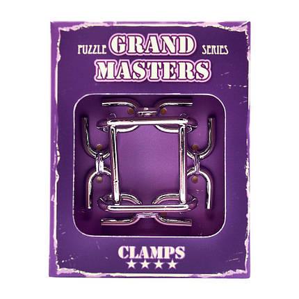 Металлическая головоломка Grand Master Clamps, фото 2