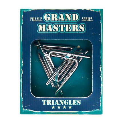 Металлическая головоломка Grand Master Triangles, фото 2