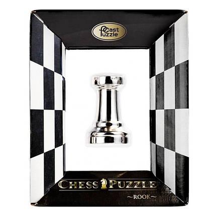 Металлическая головоломка Ладья | Chess Rook, фото 2