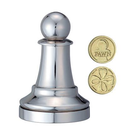 Металлическая головоломка Пешка | Chess Pawn, фото 2