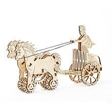 Механический пазл Римская колесница