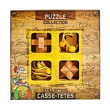 Набор деревянных головоломок Expert