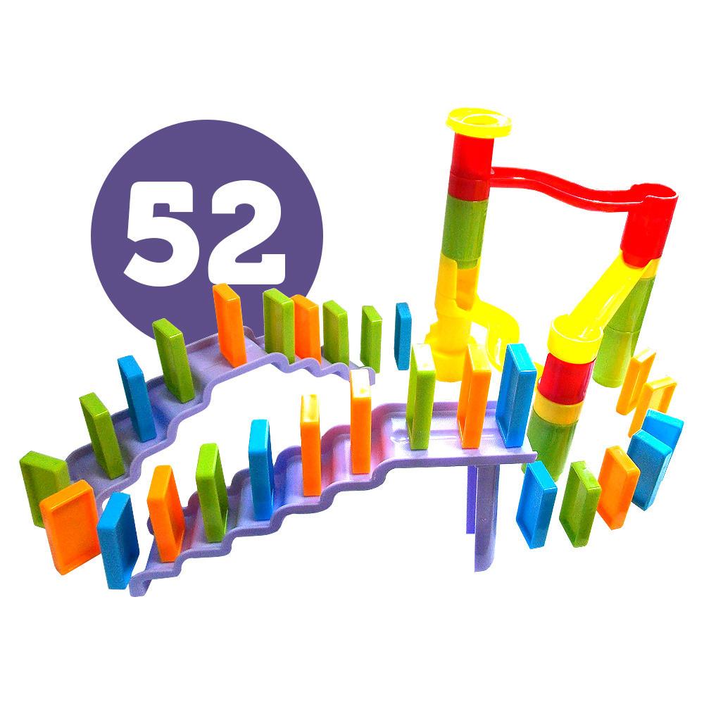 Падающее домино, 52 детали