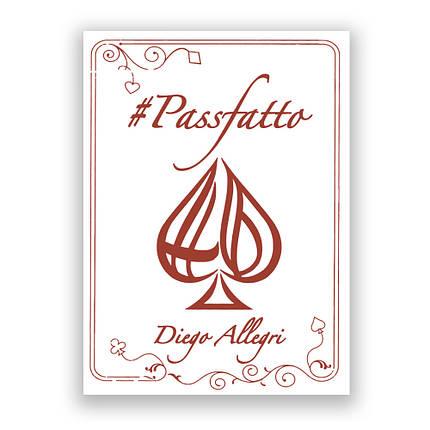 Покерные карты #Passfatto (Diego Allegri), фото 2