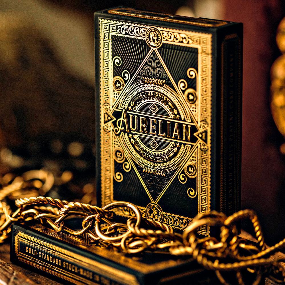 Покерные карты Aurelian от Ellusionist