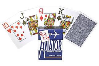 Покерные карты Aviator Jumbo Index, фото 3