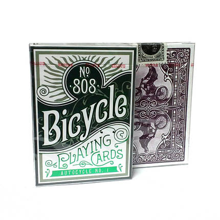 Покерные карты Bicycle Autocycle No. 1, фото 2