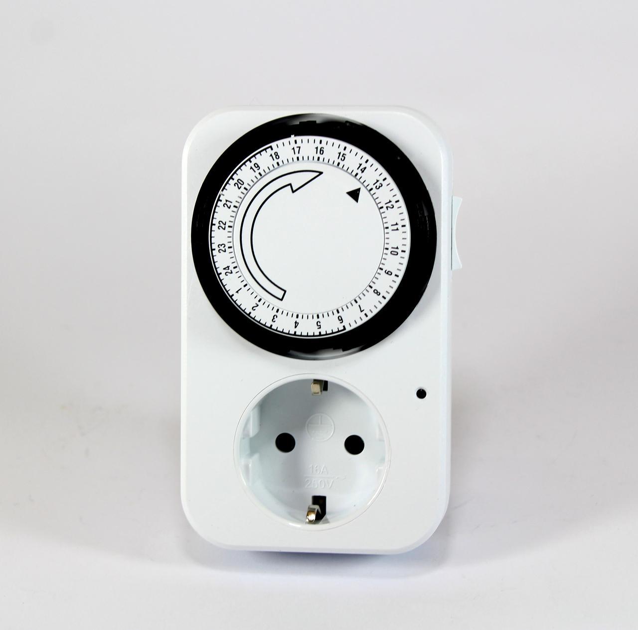 Розетка с таймером Programmer timer (Отключение только по расписанию )