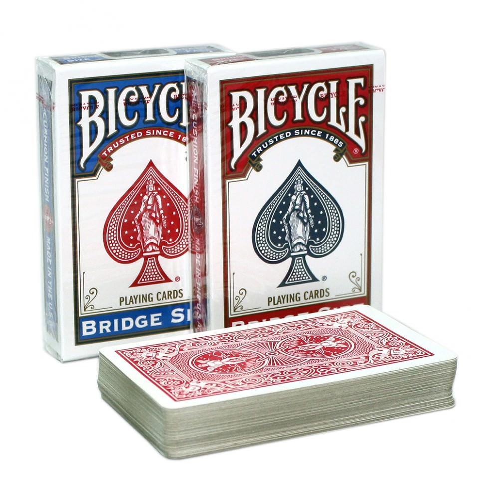 Покерные карты Bicycle Bridge Size