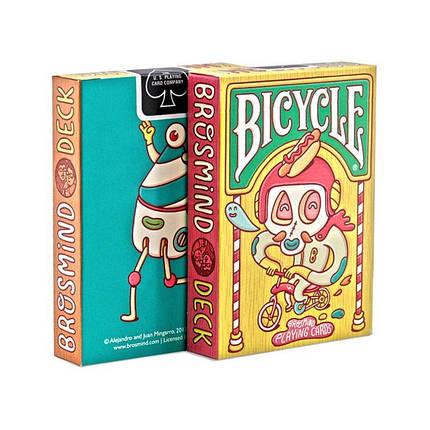 Покерные карты Bicycle Brosmind, фото 2